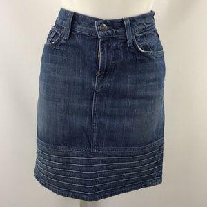 7 For All Mankind Denim Skirt Size 28/6